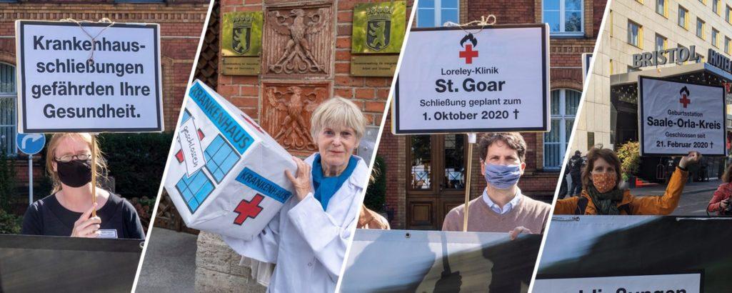 Bundesweite Krankenhausschließungen jetzt stoppen!